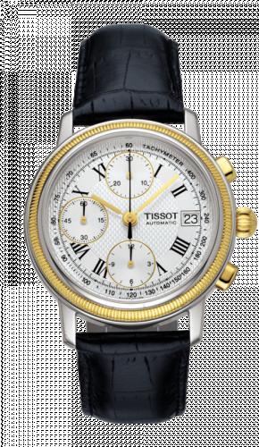 Tissot T71.0.427.33 : Bridgeport Automatic Chronograph Gold Bezel
