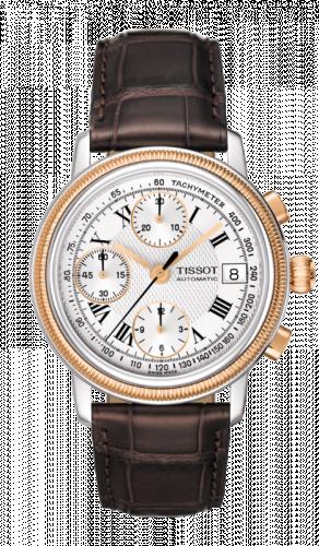 Tissot T71.1.467.13 : Bridgeport Automatic Chronograph Rose Gold Bezel