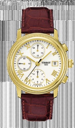 Tissot T71.3.465.13 : Bridgeport Automatic Chronograph Yellow Gold
