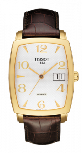 T71.3.633.34 : Tissot Sculpture Line Tonneau Automatic Big Date