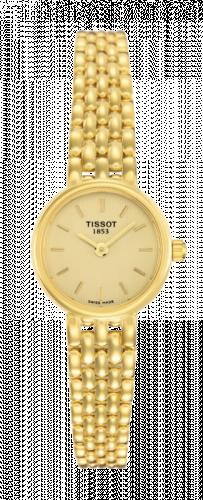 Tissot T73.3.132.21 : Caliente Quartz 19.5 Yellow Gold / Champagne / Bracelet