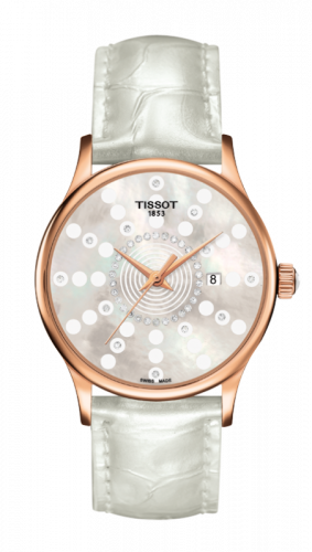 Tissot T914.210.76.116.01 : Rose Dream Quartz Ladies Bubbles