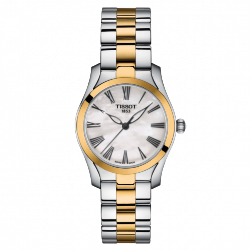 Tissot T112.210.22.113.00 : T-Wave Stainless Steel / PVD Gold / MOP