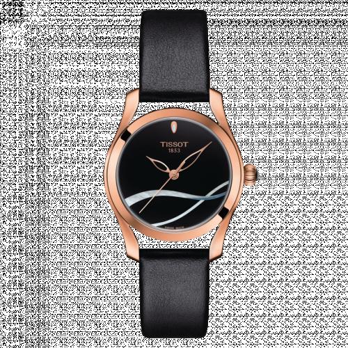 Tissot T112.210.36.051.00 : T-Wave PVD Gold / Black