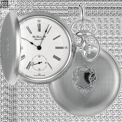 Tissot T83.1.452.13 : Tissot Savonnette Mechanical Silver / White