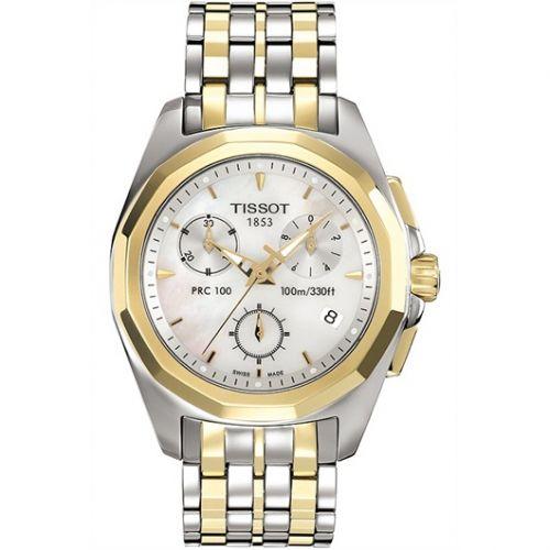 Tissot T008.217.22.111.00 : PRC 100 Quartz Chronograph Two Tone