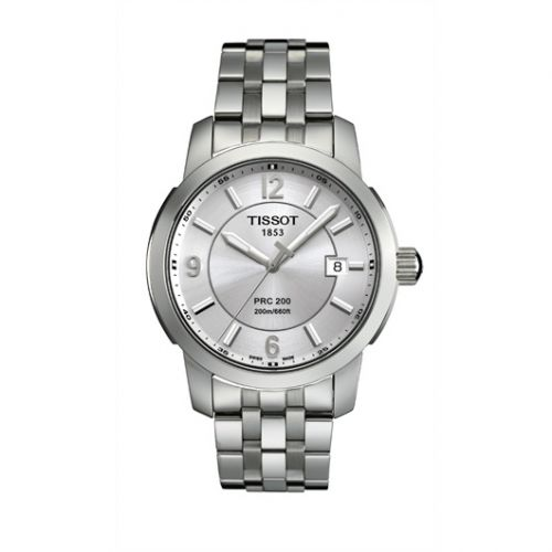 T014.410.11.037.00 : Tissot PRC 200 Quartz Silver