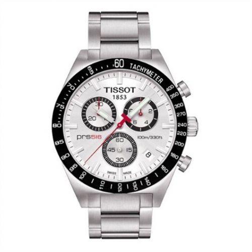 Tissot T044.417.21.031.00 : PRS 516 Quartz Chronograph Silver