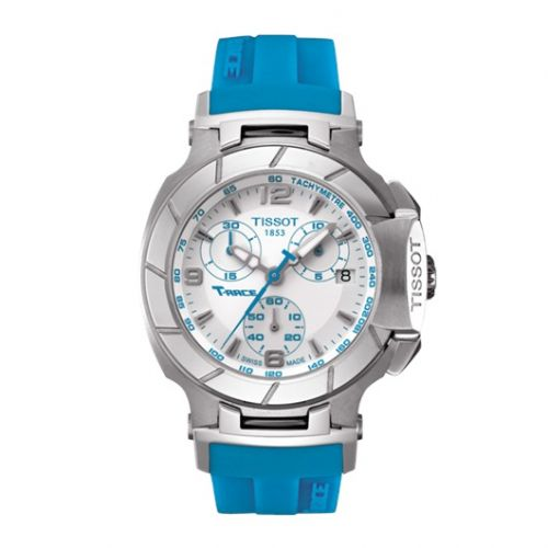 T048.217.17.017.02 : Tissot T-Race Quartz Ladies Blue