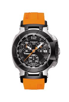 Tissot T048.217.27.057.00 : T-Race Quartz Ladies Orange
