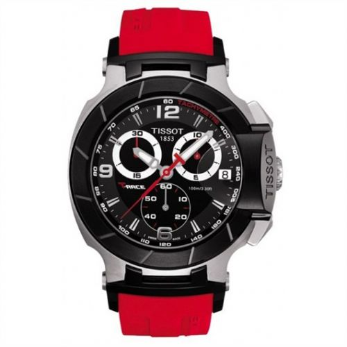 T048.417.27.057.01 : Tissot T-Race Quartz Red Rubber