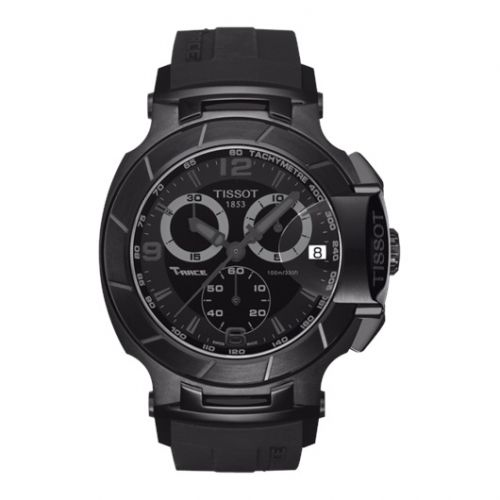 T048.417.37.057.00 : Tissot T-Race Quartz Black Black