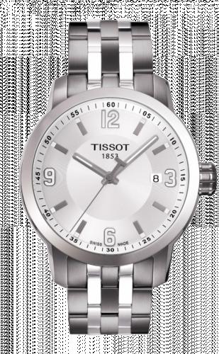 T055.410.11.017.00 : Tissot PRC 200 Quartz Silver