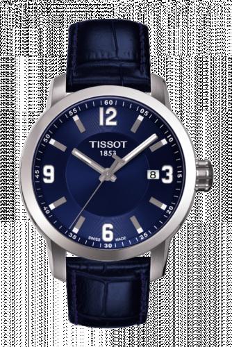 T055.410.16.047.00 : Tissot PRC 200 Quartz Blue Leather