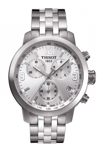 T055.417.11.037.00 : Tissot PRC 200 Quartz Chronograph Silver
