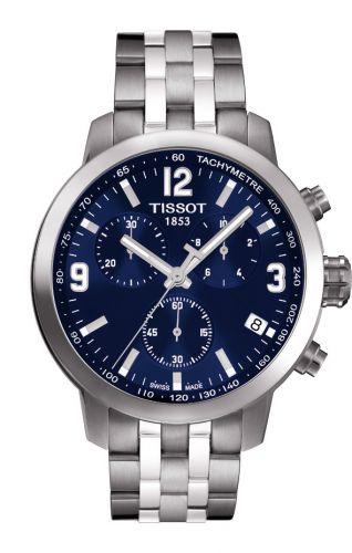 T055.417.11.047.00 : Tissot PRC 200 Quartz Chronograph Blue