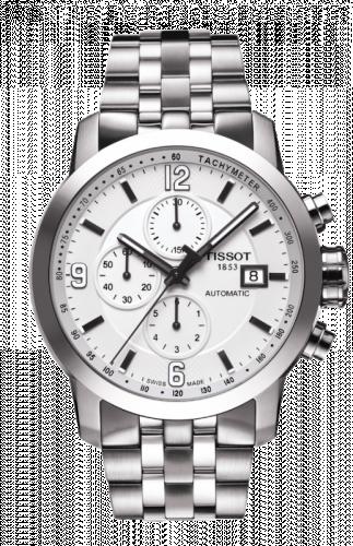 T055.427.11.017.00 : Tissot PRC 200 Automatic Chronograph Silver