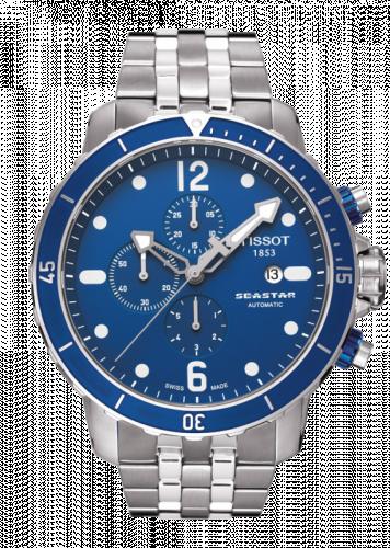 T066.427.11.047.00 : Tissot Seastar 1000 Automatic Chronograph Blue