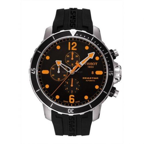 T066.427.17.057.01 : Tissot Seastar 1000 Automatic Chronograph Orange