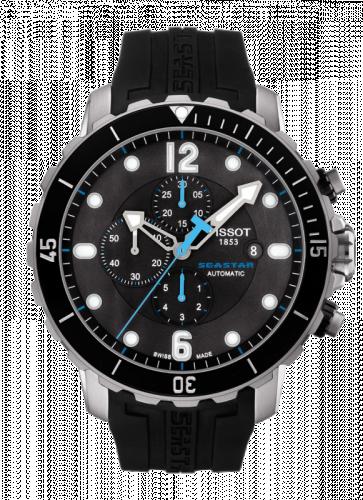 T066.427.17.057.02 : Tissot Seastar 1000 Automatic Chronograph Ceramic