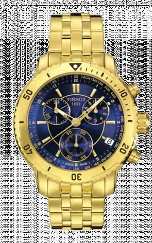 T067.417.33.041.00 : Tissot PRS 200 Quartz Chronograph Gold