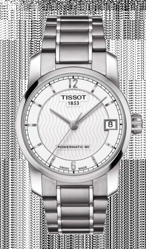 Tissot T087.207.44.037.00 : Powermatic 80 Lady Titanium / Silver