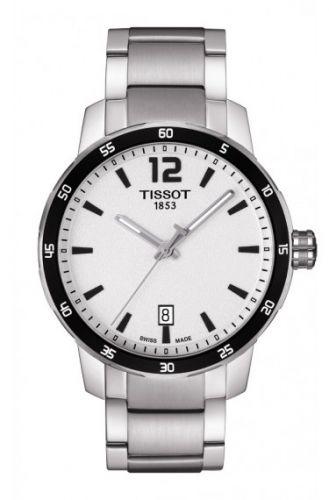 Tissot T095.410.11.037.00 : Quickster Stainless Steel / Silver / Bracelet