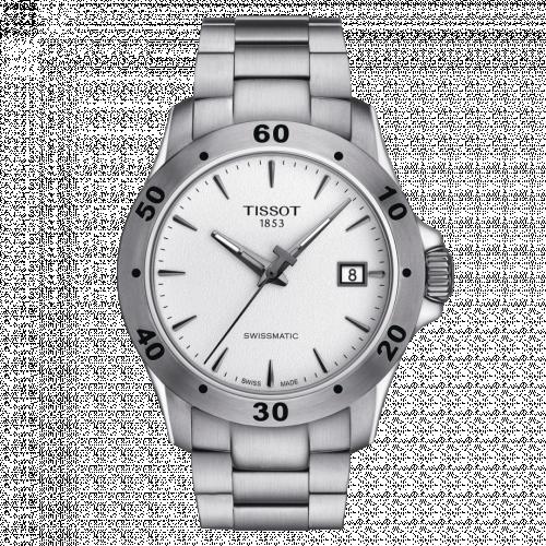 Tissot T106.407.11.031.01 : V8 Swissmatic 42.5 Stainless Steel / Silver / Bracelet