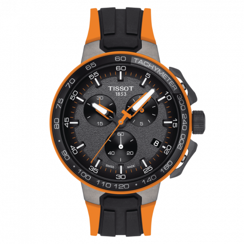 T111.417.37.441.04 : Tissot T-Race Cycling Chronograph Stainless Steel / Orange
