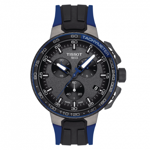 T111.417.37.441.06 : Tissot T-Race Cycling Chronograph Stainless Steel / Blue
