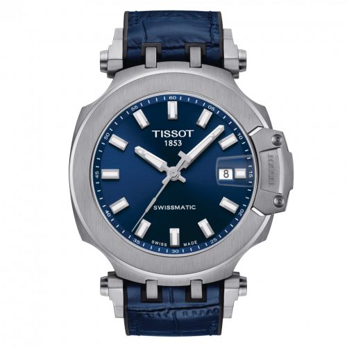 T115.407.17.041.00 : Tissot T-Race Swissmatic 45 Stainless Steel / Blue