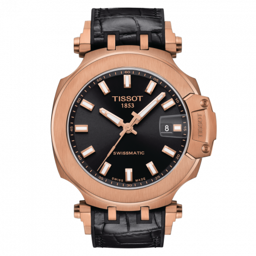 T115.407.37.051.00 : Tissot T-Race Swissmatic 45 Rose Gold PVD / Black