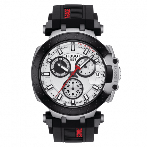 T115.417.27.011.00 : Tissot T-Race Chronograph Stainless Steel / White