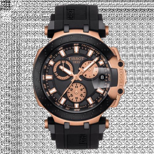 T115.417.37.051.00 : Tissot T-Race Chronograph PVD Gold / Black