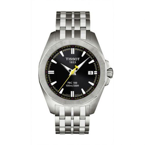 Tissot T22.1.581.51 : PRC 100 Quartz 41.3 Stainless Steel / Black / Bracelet