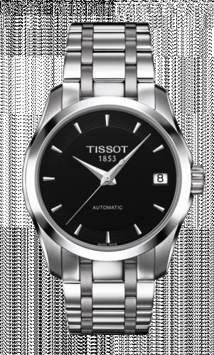 Tissot T035.207.11.051.00 : Couturier Automatic Ladies Black