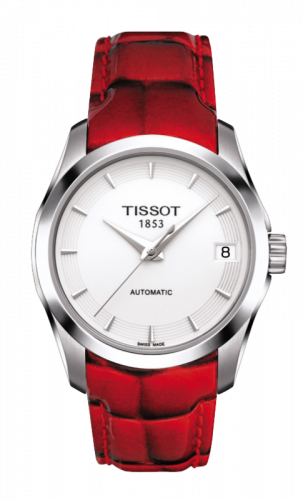 Tissot T035.207.16.011.01 : Couturier Automatic Ladies Red