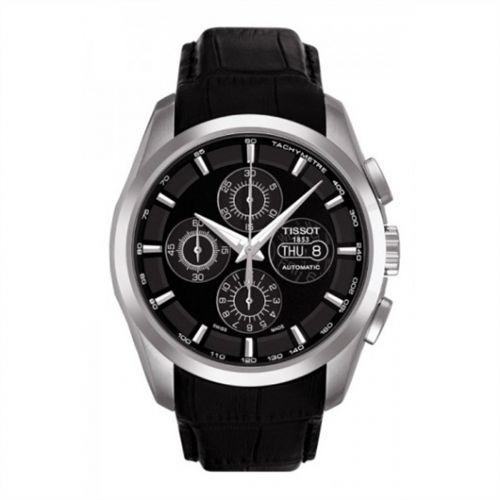 Tissot T035.614.16.051.00 : Couturier Chronograph Automatic 7750 Strap