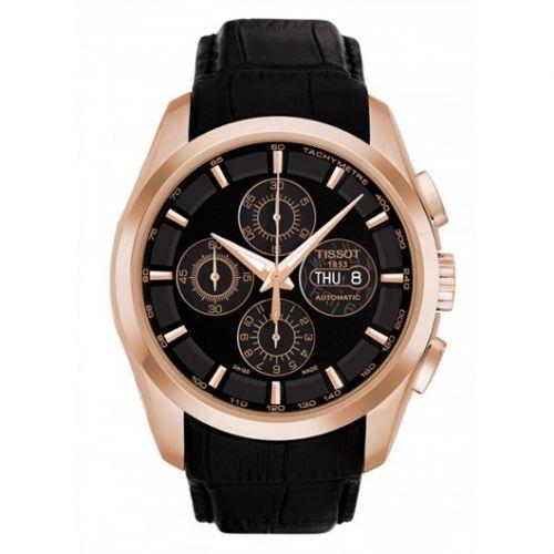 Tissot T035.614.36.051.00 : Couturier Chronograph Automatic 7750 Rose