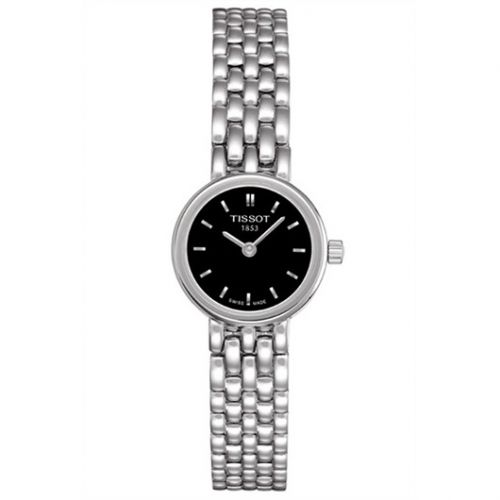 T058.009.11.051.00 : Tissot Lovely Stainless Steel / Black / Bracelet