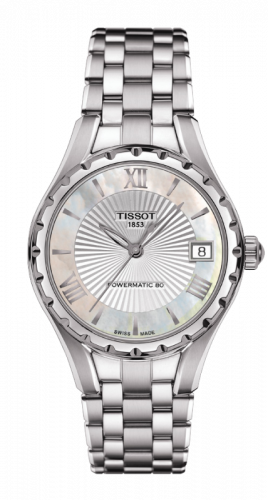 Tissot T072.207.11.118.00 : Lady 80 Automatic Stainless Steel / MOP