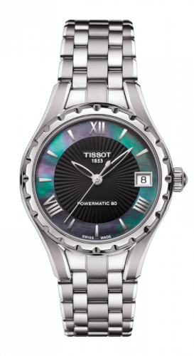 Tissot T072.207.11.128.00 : Lady 80 Automatic Stainless Steel / MOP