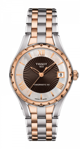 Tissot T072.207.22.118.02 : Lady 80 Automatic Stainless Steel /