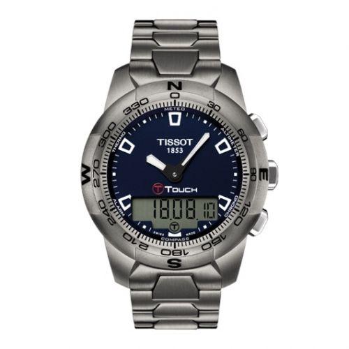 T047.420.44.041.00 : Tissot T-Touch II Blue Ti