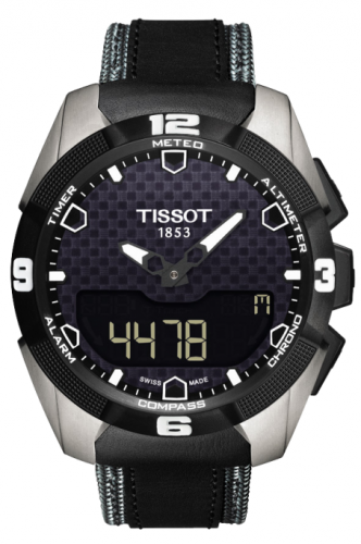 T091.420.46.051.01 : Tissot T-Touch Expert Solar Ti/ Leather Grey