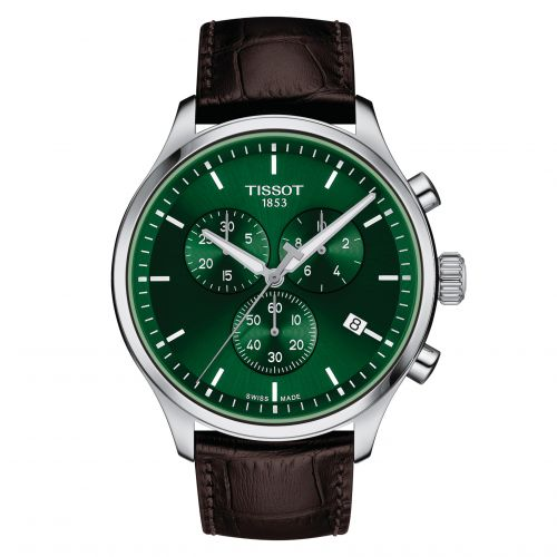T116.617.16.091.00 : Tissot Chrono XL Classic Stainless Steel / Green