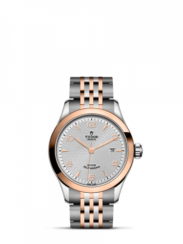 91351-0001 : Tudor 1926 28 Stainless Steel / Rose Gold / Silver