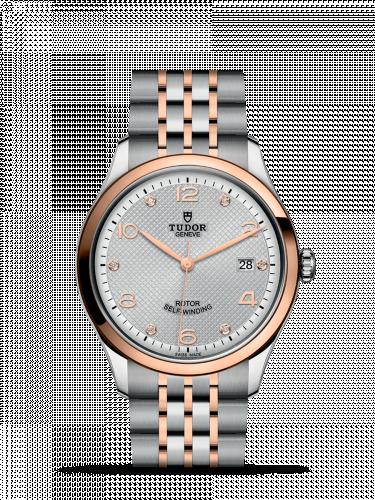 Tudor 91551-0002 : 1926 39 Stainless Steel / Rose Gold / Silver - Diamond