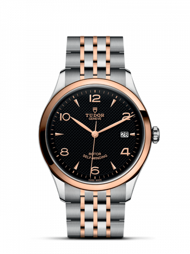 91551-0003 : Tudor 1926 39 Stainless Steel / Rose Gold / Black