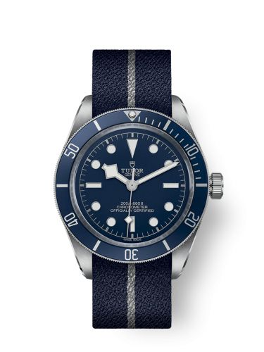 79030B-0003 : Tudor Heritage Black Bay Fifty-Eight Stainless Steel / Navy Blue / Fabric